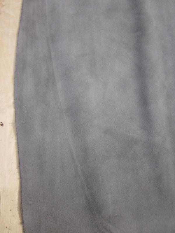 Croûte de veau velours gris