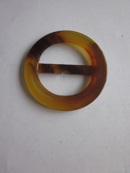 Boucle ceinture réf 14 imitation écaille