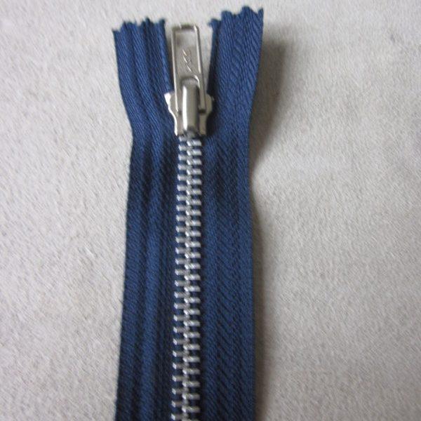 fermetures éclair séparables bleu navy